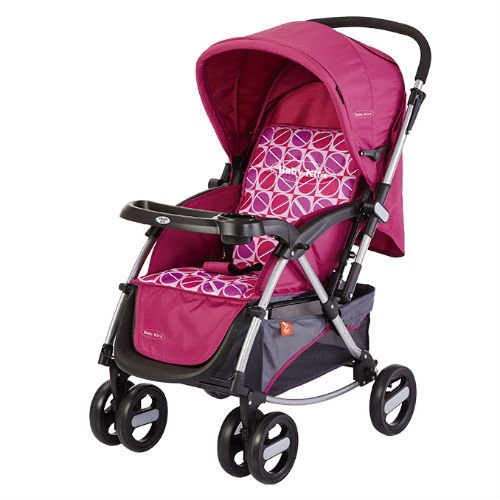 Baby Kits - Coche Cuna Modena Rosado