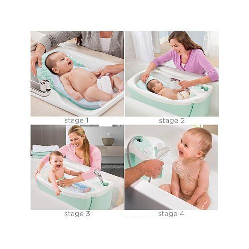 Summer Infant - Bañera de lujo -  Verde