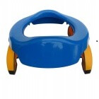 Portable Toilet - Bacín Portátil Plegable Azul
