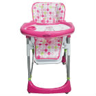 Baby Kits - Silla De Comer Alta Supper Rosa