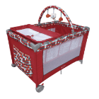 Baby Kits - Corral Cuna Magic Rojo