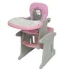 Baby Kits - Silla De Comer Carpeta Rosado