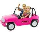 Mattel - Barbie Auto De Playa