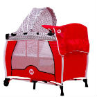 Fisher Price - Corral Cuna Zooper Playard Red Monkey