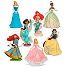 Disney - Set De Figuras De Princesas