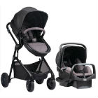 Evenflo - Travel System Evenflo Pivot Casual Grey