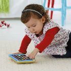 Fisher Price - Tablet De Aprendizaje Crema