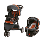 Graco - Travel System Fast Action Sport Tangerine