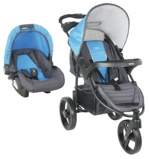 Coche Travel System Tizzy Race Blue