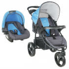 Infanti - Coche Travel System Tizzy Race Blue