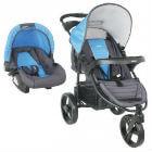 Infanti - Coche Travel System Tizzy Race Blue