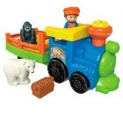 Little People - Tren Zoo
