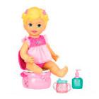 Mattel - Little Mommy Bebé Aprendiendo A Ir Al Baño