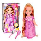 Disney - Muñeca Rapunzel Con Espejo Y Peine