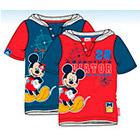 Disney - Poleras Manga Corta Mickey Azul