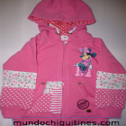 Disney - Casaca Minnie Mouse Rosada