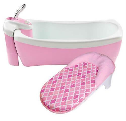 Bañera De Lujo Rosada