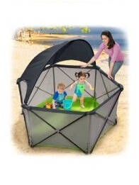 Summer Infant - Corralito Portátil Pop N´ Play con toldo