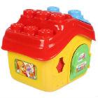 Clementoni  - Casa En Cubo Clemmy Multicolor