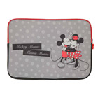 Disney - Funda Laptop Minnie Reversible Gris 14 Pulgadas