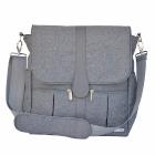 JJ Cole - Pañalera Backpack Gray Heather