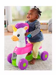Fisher Price - Andador Musical Unicornio