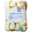 Maternelle - Pack Manta Muselina Jirafa Bosque