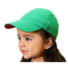O3 - Gorro Infantil Unisex Verde Upf 50