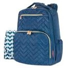 Fisher Price - Mochila Pañalera Quilted Azul
