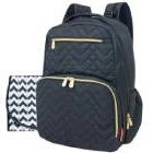 Fisher Price - Mochila Pañalera Quilted Negro