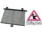 Reer - Cortina solar enrollable para auto y Sticker