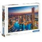 Clementoni  - Rompecabezas 1500 Piezas Dubai Marina