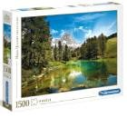 Clementoni  - Rompecabezas 1500 Piezas Lago Azul