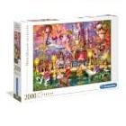 Clementoni  - Rompecabezas Circo 2000 piezas