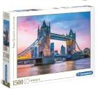 Clementoni  - Rompecabeza Tower Bridge Sunset 1500 Pzas