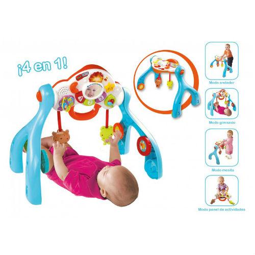 Baby Gimnasio Sorpresas 4 En 1